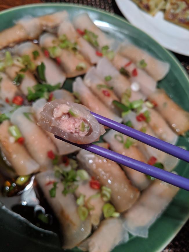 清蒸蘿蔔卷