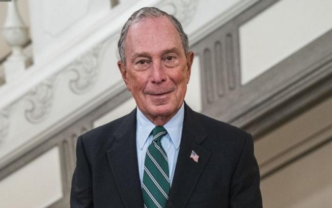 麥可.彭博(Michael Bloomberg)。美聯社