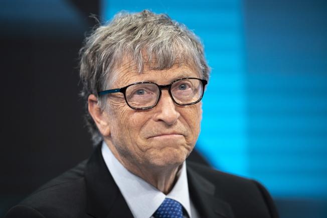 微軟創辦人比爾蓋茲認為美中不應在高科技領域偏執對立。 歐新社