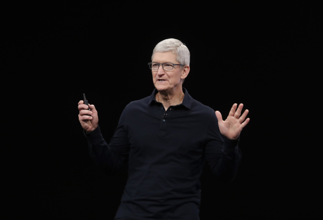 蘋果最近一季回購價值超過180億元的自家股票。(美聯社)