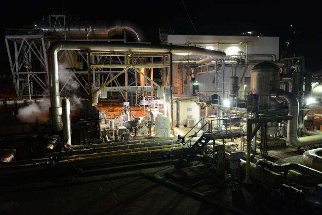 地熱發電也是一種潔淨能源。(Getty Images)