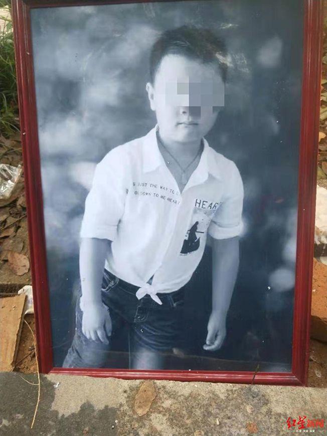 遇害男孩生前照片。(取材自紅星新聞)