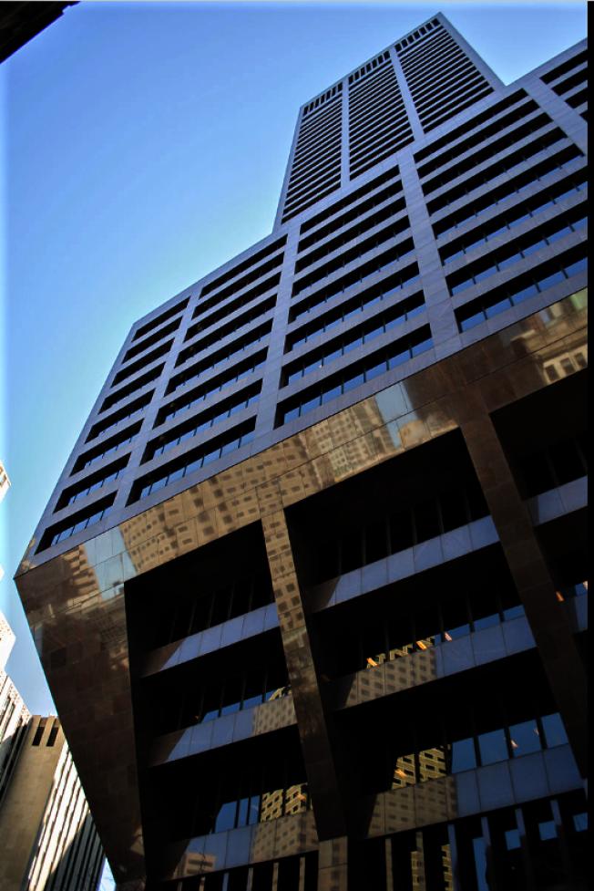 591英呎、波城第八高樓的100 Federal Street 大樓是美國銀行新英格蘭總部所在地。(取自維基百科)