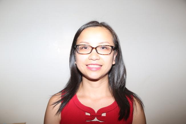 現任華埠市議員陳倩雯的幕僚長李金枝已在CFB登記,於2021年參選該市議員職位。(記者洪群超/攝影)