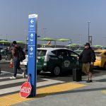 卡車陣候客 出租車司機:不去LAX接機了
