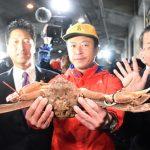 日本高級松葉蟹 破紀錄拍出4.6萬元