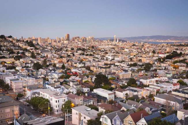 35%的舊金山居民都想出走。(Getty Images)