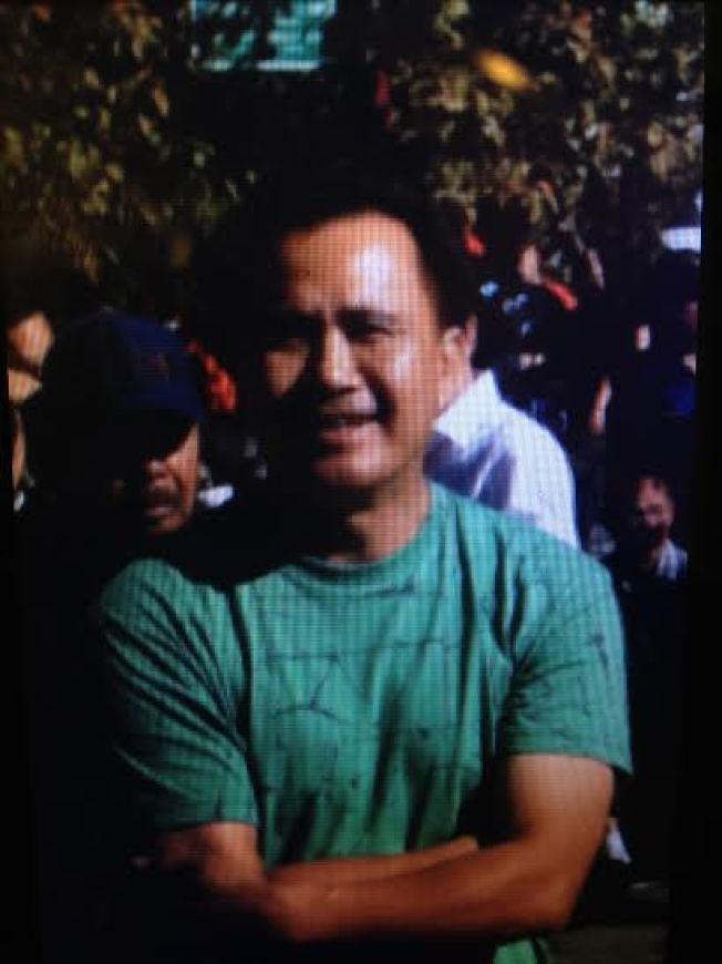 2013年在蒙多西諾縣Fort Bragg市遭槍殺的合勝堂會員江達安。(本報檔案照片)