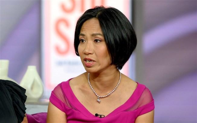 英國華裔女子露薏娜.邱隱忍兩年,才說出遭影業巨子溫斯坦強暴。(NBC電視台截圖)