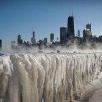 北極冷空氣殺到 半個美國急凍 驟降15-30℉
