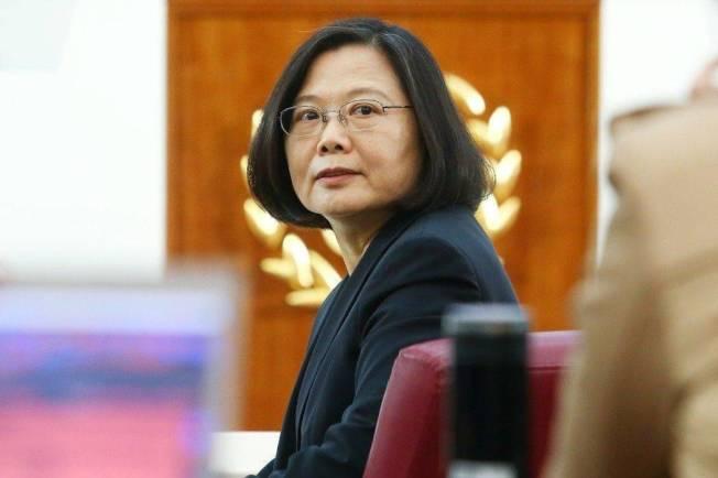 2011年,蔡英文選情遭宇昌案重挫。(本報資料照片)