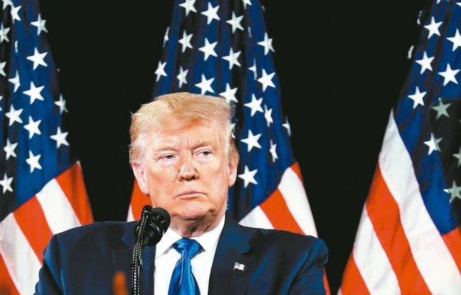 美國總統川普8日說,雖然中國希望他取消關稅,但他尚未同意。(美聯社)