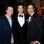 王力宏好萊塢獲獎 三兄弟同框帥度不科學