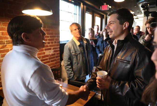 印第安納州南灣市長布塔朱吉是民主黨內民調領先群的總統參選人。(Getty Images)