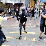 港人「大三罷」示威  警近距連開3槍 2人受傷