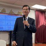 翁啟惠台灣會館演講 聽眾滿場