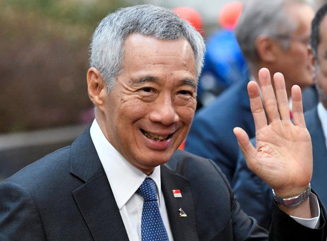 新加坡總理李顯龍10日表示,台灣民眾和香港示威者都對未來悲觀,新加坡人民行動黨必須持續帶給民眾希望,避免發生在其他地方的社會分裂情況。(路透)