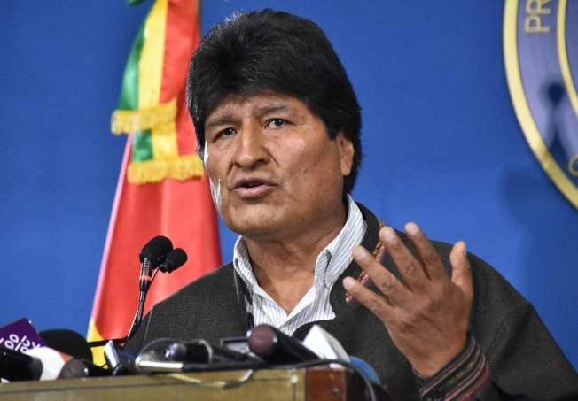 玻利維亞總統莫拉萊斯執政近14年,是當今拉丁美洲在任最久的左派總統。Getty Images
