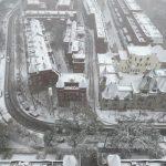 風雪襲芝 美航班機滑出跑道 38乘客安全撤離