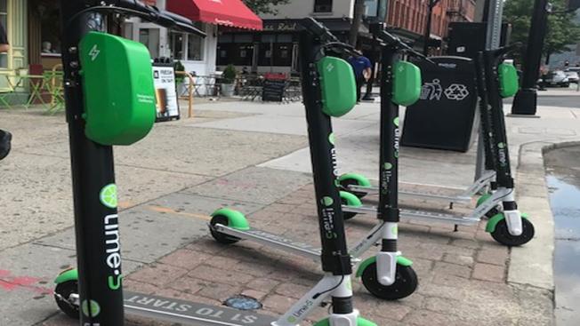 伊麗莎白市成為新州第三個,也是啟動電動滑板車共享計畫的最大試點城市。(ABC電視台)