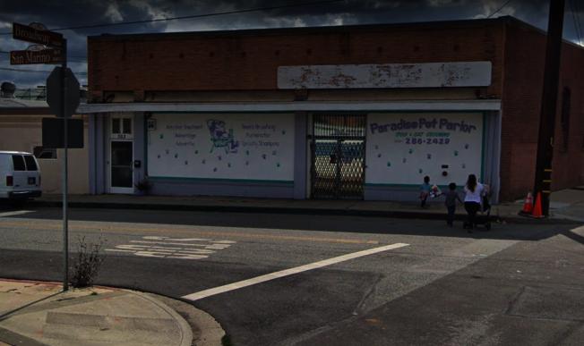 聖蓋博發8日發生行人被皮卡撞死事件。圖為案發的百老匯街與聖瑪利諾街十字路口。(取自谷歌街景圖)
