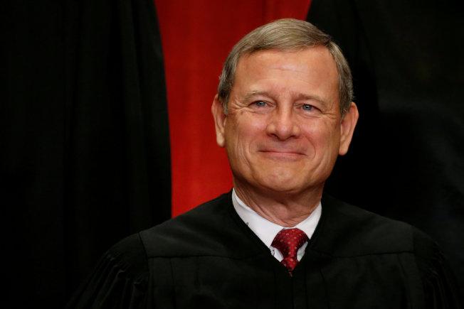 最高法院首席大法官羅伯茲將監督審理總統彈劾案。(路透)