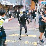 港警持續近距離開槍 日參議員:中國人權怎麼了?