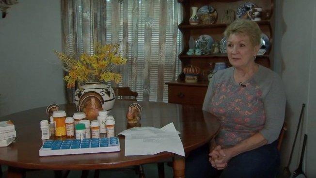 73歲的雪莉因身體狀況需要服用多種藥物,卻因被社會安全局誤記為「死亡」,因而無法使用醫療保險。取材自abc13