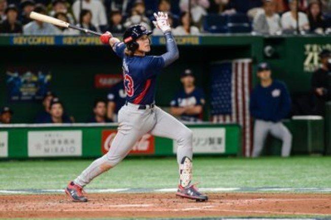 美國4:3險勝日本。 擷圖自WBSC官方推特