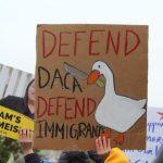 〈圖輯〉夢想生徒步230哩 最高法院前示威守護DACA