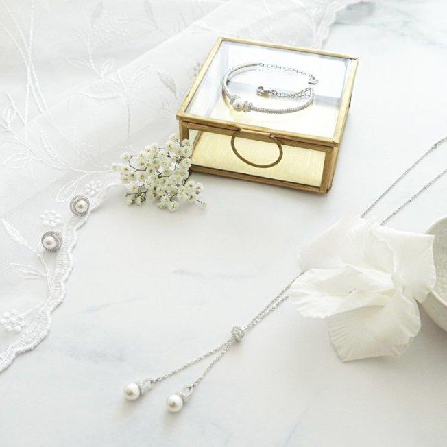 施華洛世奇 Originally 系列,打造不一樣的冬日婚禮。圖/施華洛世奇提供