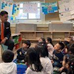 教育總監訪PS163中英雙語班 校長盼增資源