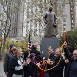 國父孫中山銅像 永久安置華埠 白思豪:天下為公理念代表紐約市