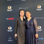 中國十大演員之一暨台灣金馬獎影后在美國談電影老井