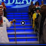 亞凱迪亞樂儀隊教練 CBS節目掃帚秀身手