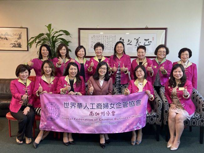 世華工商婦女會 13成員訪世界日報