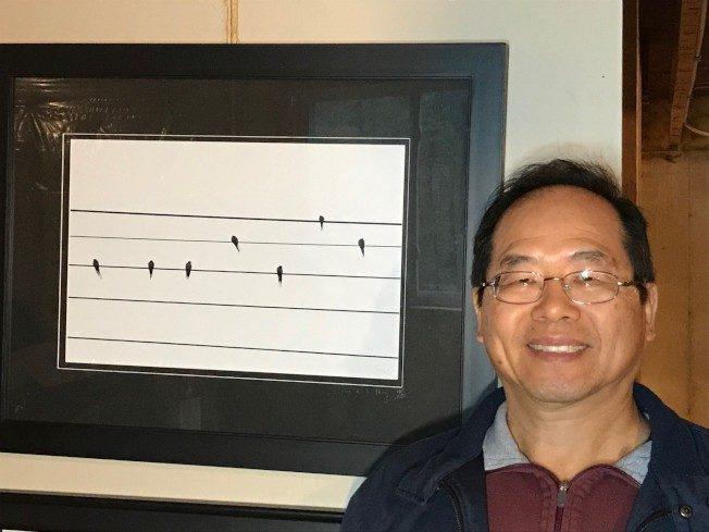 彭煒玄攝影40年有成 「天的樂章」獲獎