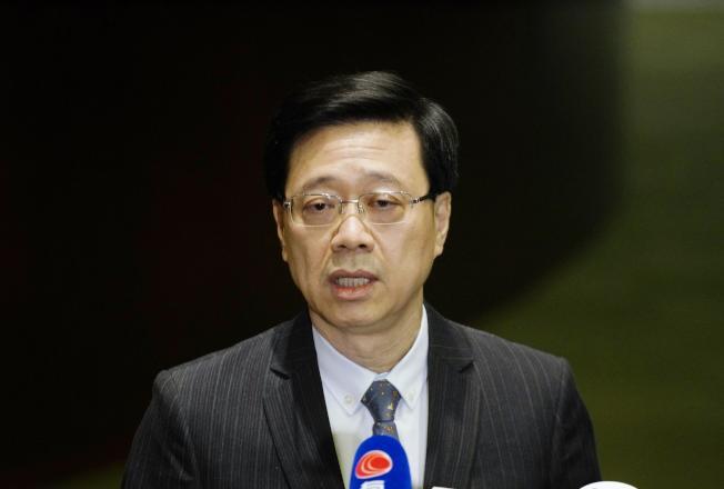 香港保安局局長李家超13日說,香港任何地方都受法律規管,大學不是法外之地。   (新華社資料照片)
