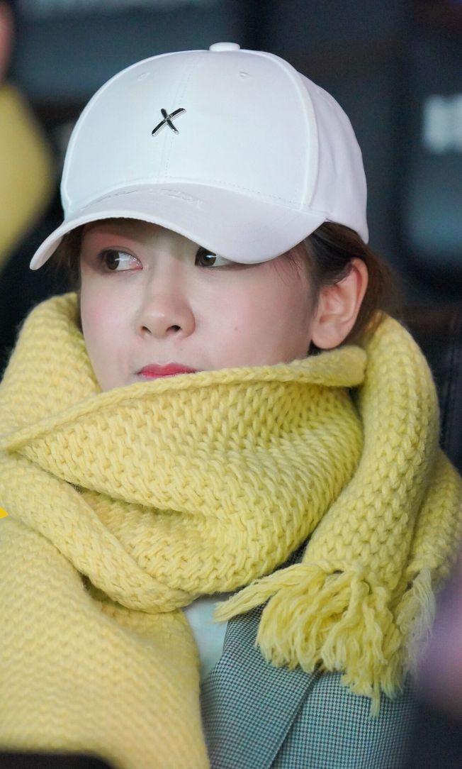 劉昊然、楊紫(見圖)低調現身《大約在冬季》首映。(取材自微博)