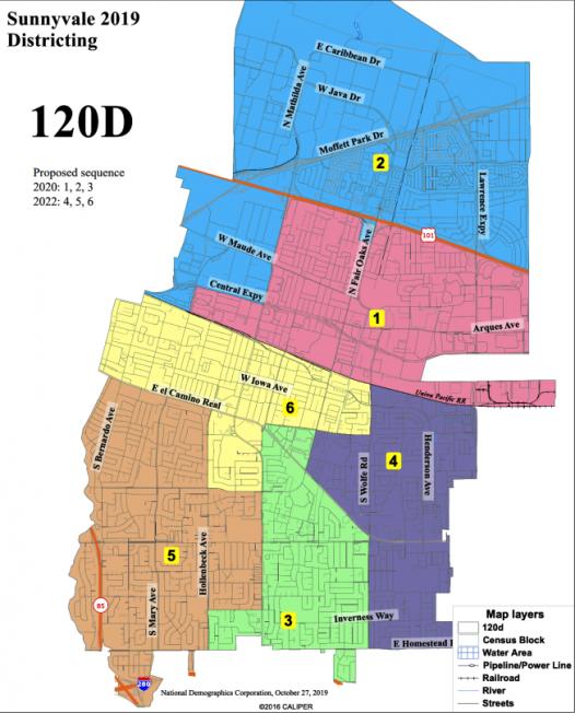 桑尼維爾選區改制 地圖出爐