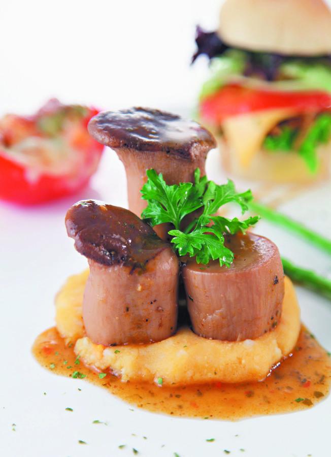 杏鮑菇營養價值高,不論煎、烤、煮、炒都很美味。(本報資料照片)