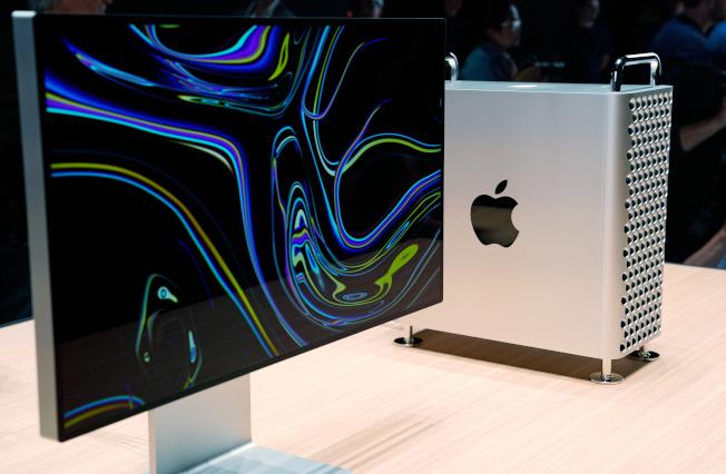 Mac Pro及Pro Display XDR顯示器,將會在今年12月正式推出。(路透)