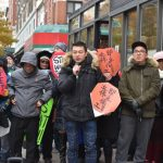 「防拖欠工資」差葛謨簽字成法 勞工抗議維權