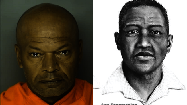 逍遙法外近30年的「波多馬克河強暴犯」沃里克近日在南卡州被捕。(FBI提供)