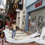 香港創社運最長紀錄  經濟出現「藍店」及「黃圈」