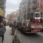 華埠伊利沙白街失火 1度拉「全員出動」警報