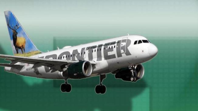 廉航公司Frontier Airlines全美業務成長迅速,再增賭城直飛航線。(Frontier Airlines官網)
