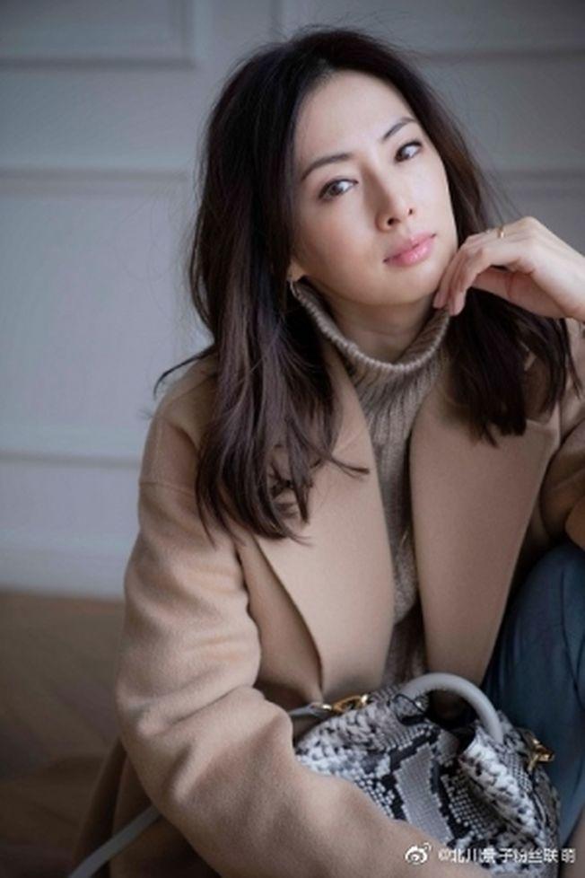 北川景子之前才拿下「平成最強美女」票選冠軍。(取材自微博)