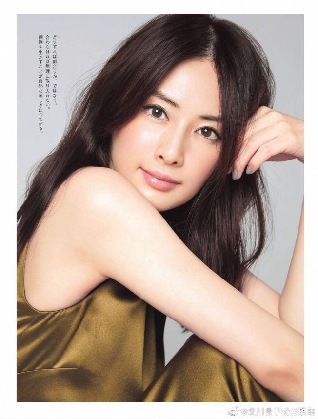 北川景子獲選日本30代最美女星。(取材自微博)