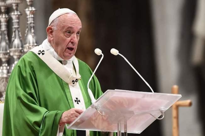 教宗方濟各將打破沈默,親自針對香港事件發言。(Getty Images)